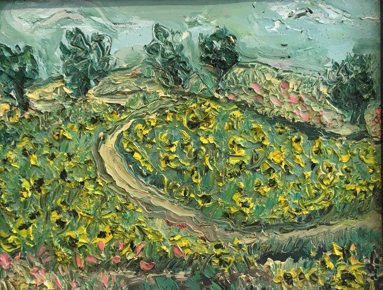 Buttonwood Farm - oil on canvas 18