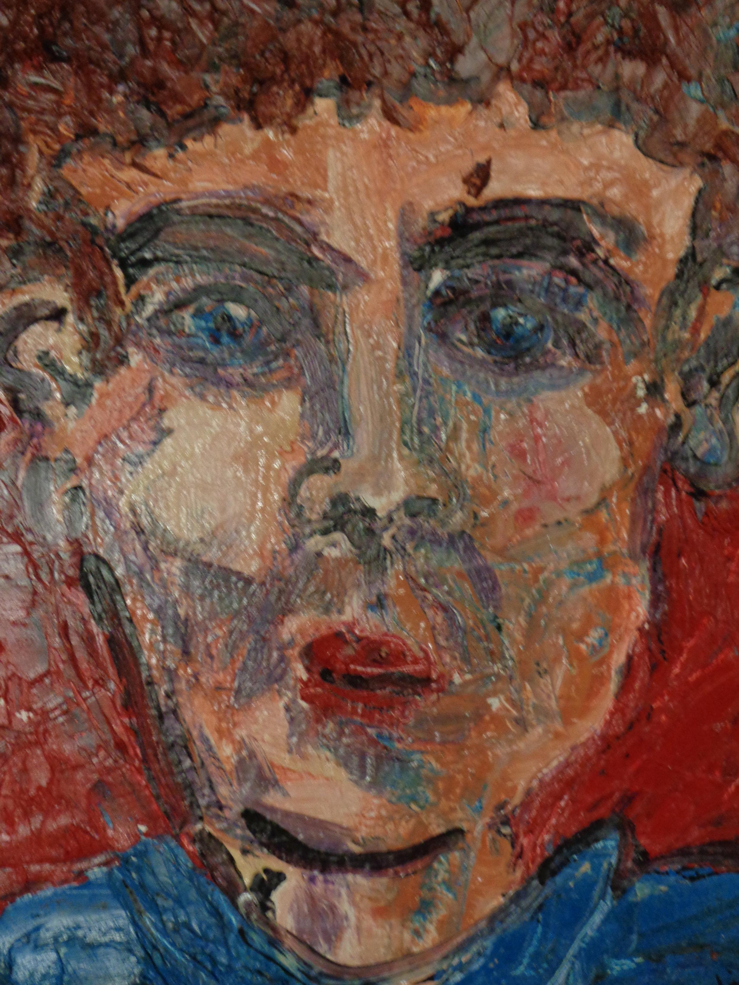 George - oil on canvas 20