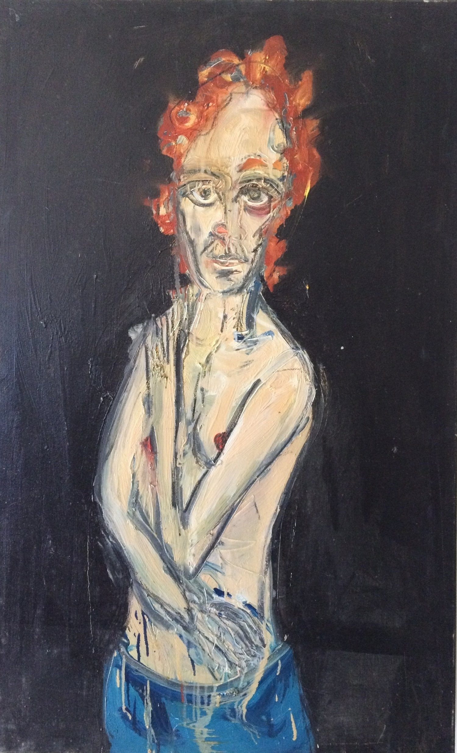 Irina - Oil on canvas 2014