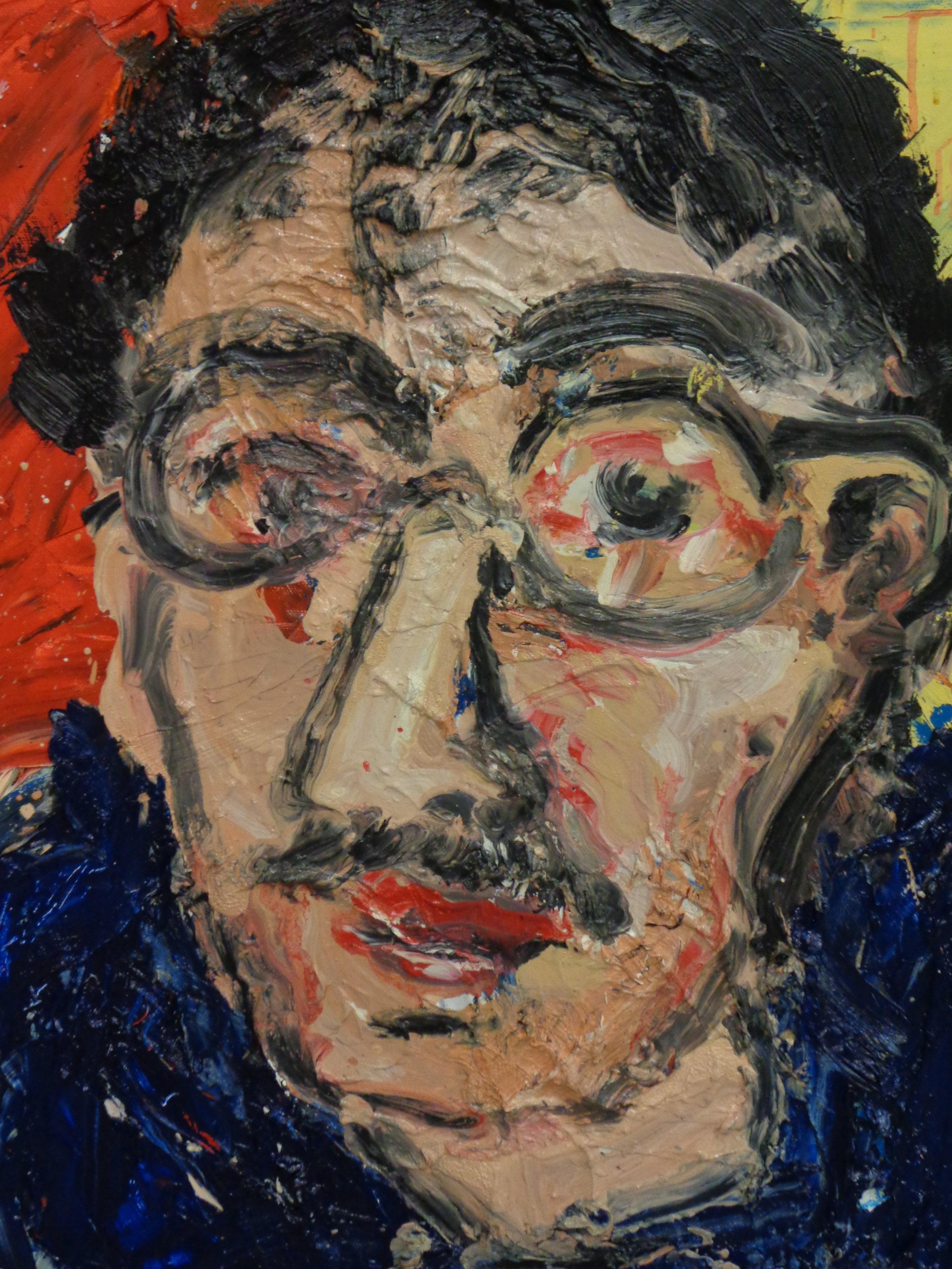 Robert Bianchi - oil on canvas 24