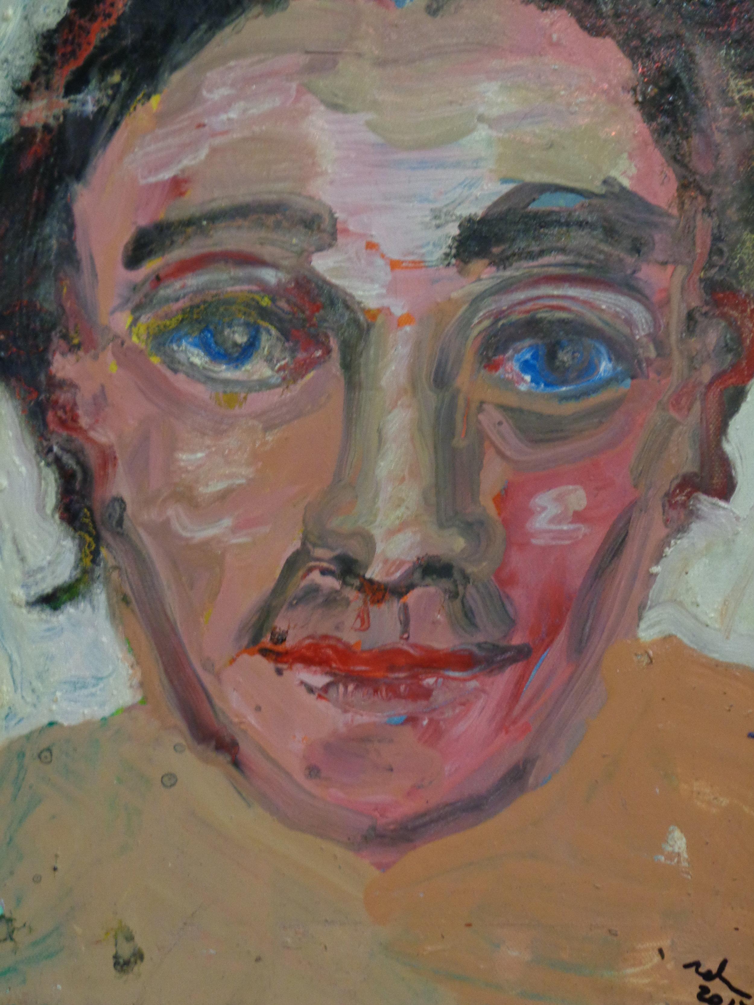 Self Portrait - oil on canvas 2017