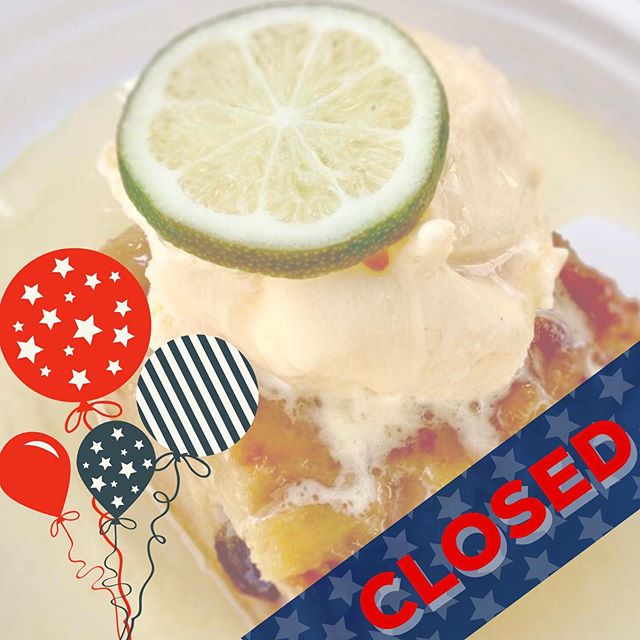 All metro locations are closed today, Thursday July 4th. Wishing everyone a safe and happy fourth and we'll see you tomorrow! #eatattheurb