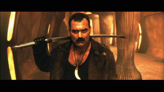 I shave with my katana, and kill with my looks!