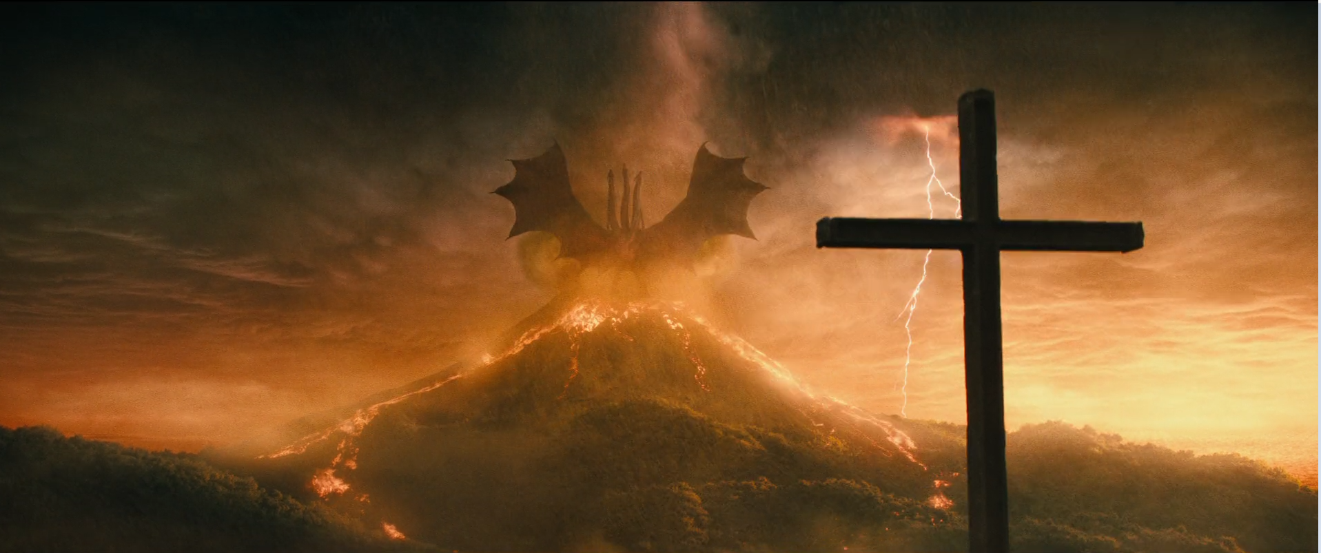 9 - Ghidorah volcano now with more lightning.png
