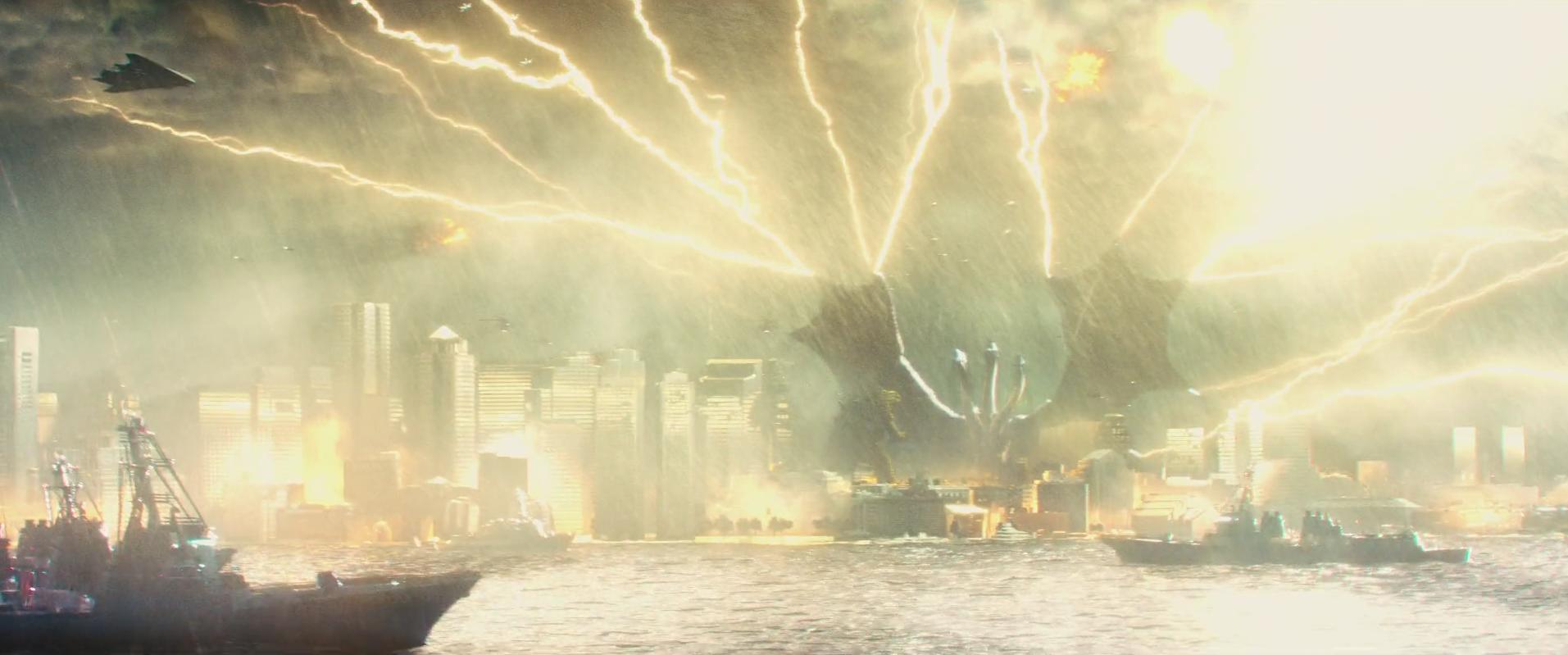 30 - Ghidorah Lightning Storm attack.png