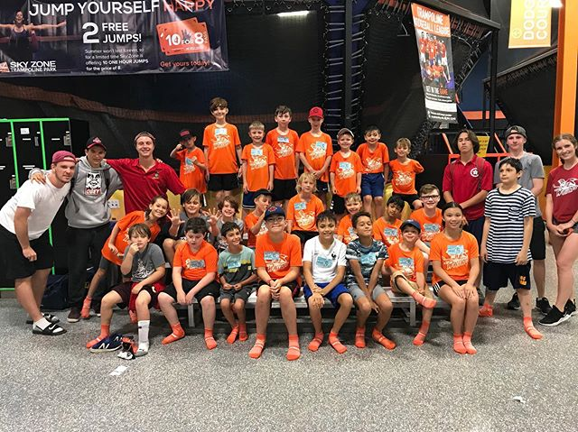 Sky Zone made everyone in Session 3 jump for joy!