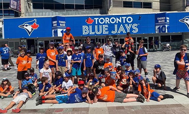 The Blue Jays game was a big hit with Session 7!