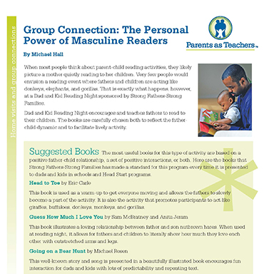 Group Connection : The Personal Power of Masculine Readers  By J. Michael Hall