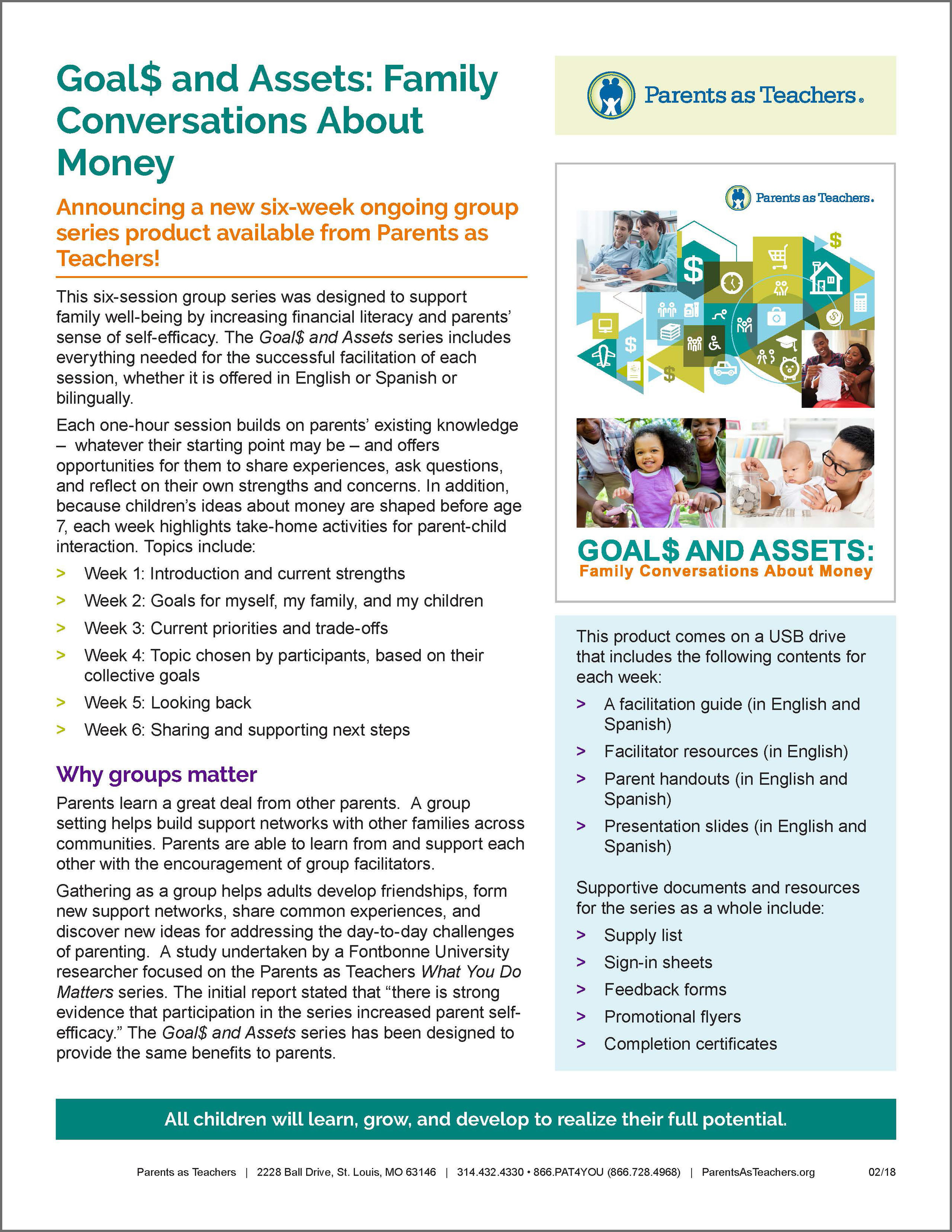 Click image to download the Goal$ and Assets Marketing Flyer
