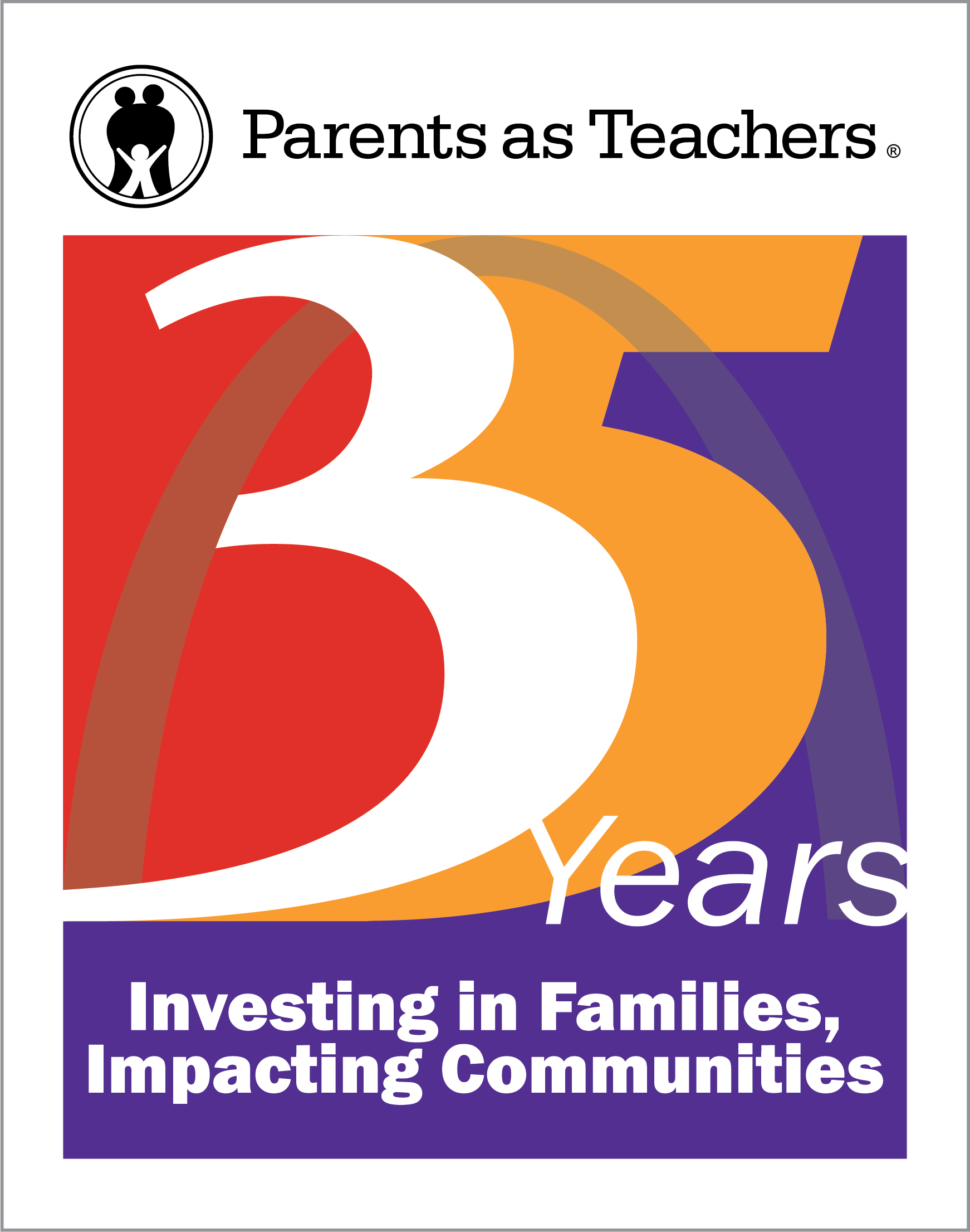 Parents as Teachers 35th Anniversary logo