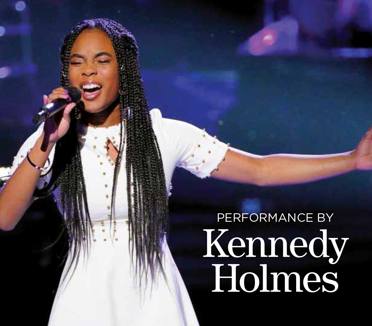 Performance by Kennedy Holmes