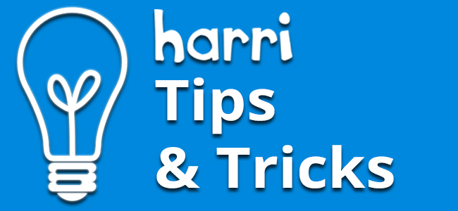 Harri-tips-&-tricks