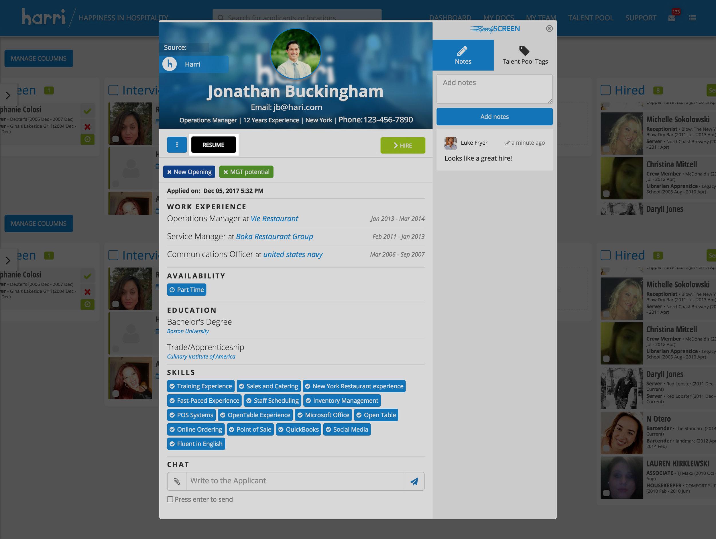 Enhanced Resume/CV Visibility -