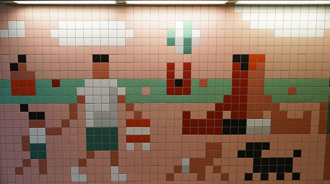 Christoph Niemann: Wannsee station
