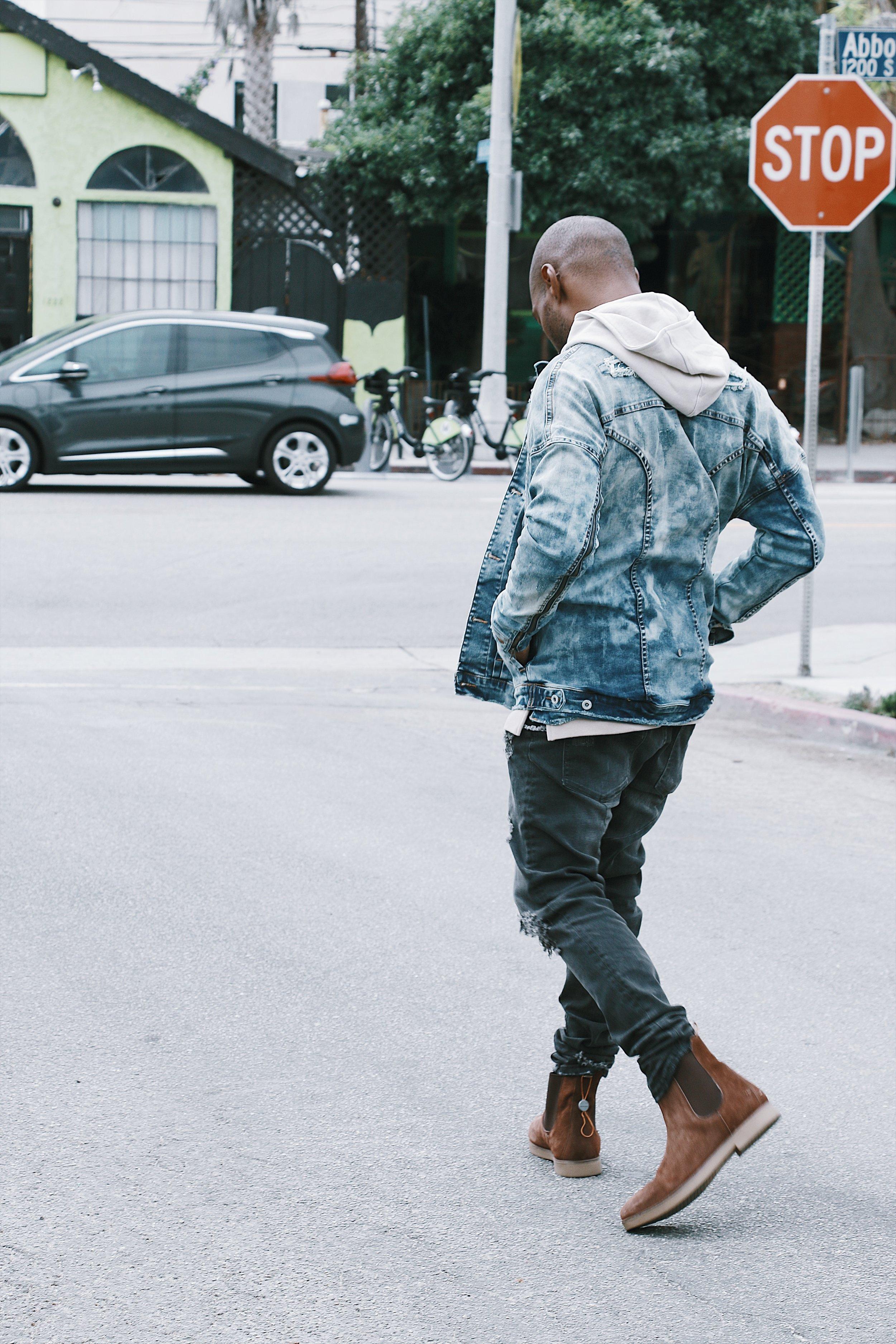Kollar Clothing: CJ Johnson Jr. For Ourselves Black