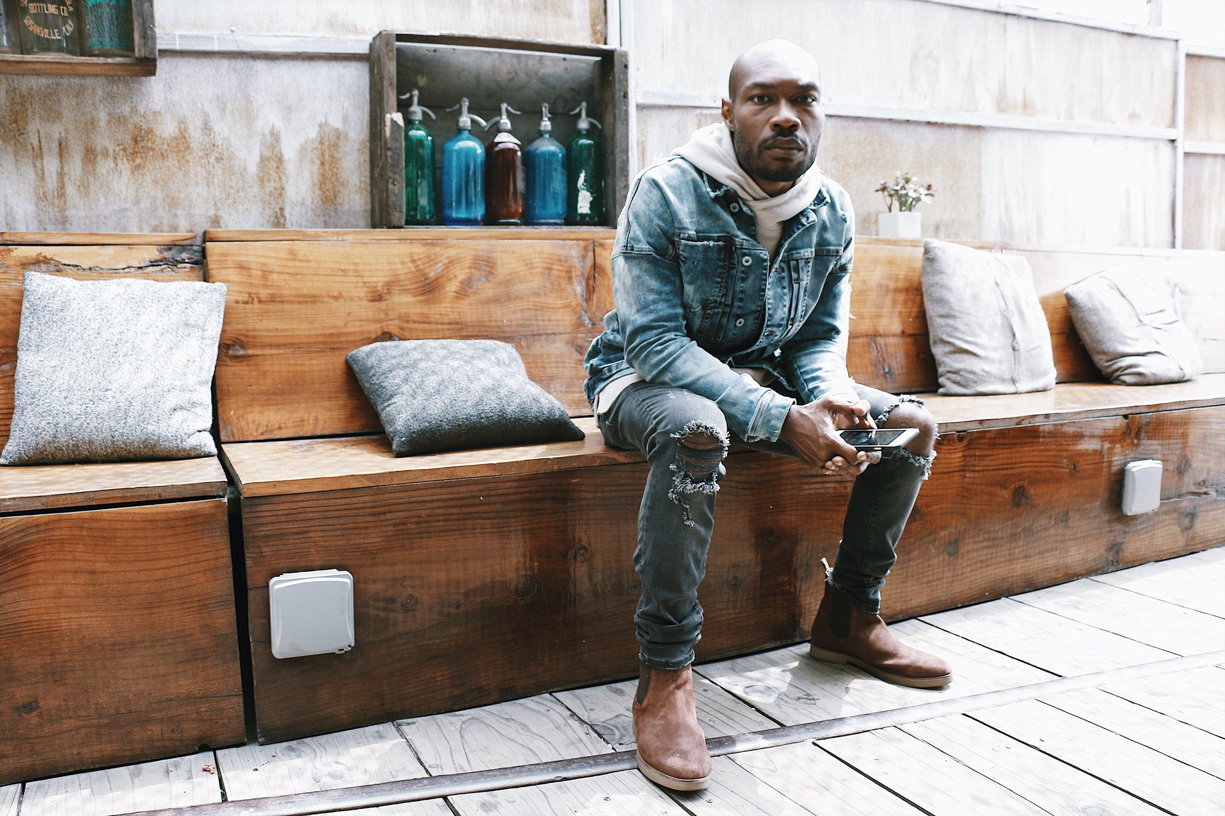 Kollar Clothing CJ Johnson Jr. For Ourselves Black