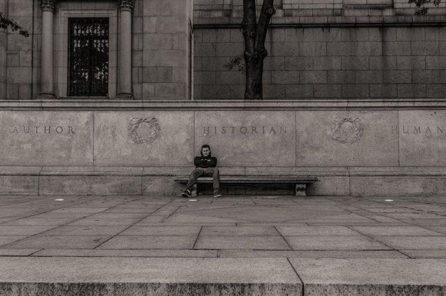 The Historian #socialdocumentary #newyorkcity #streetphotography #canon #historymuseum #doddnyc