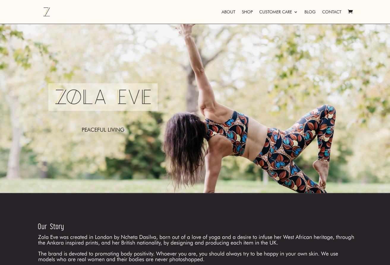 ZOLA EVE 2018 www.zolaeve.com