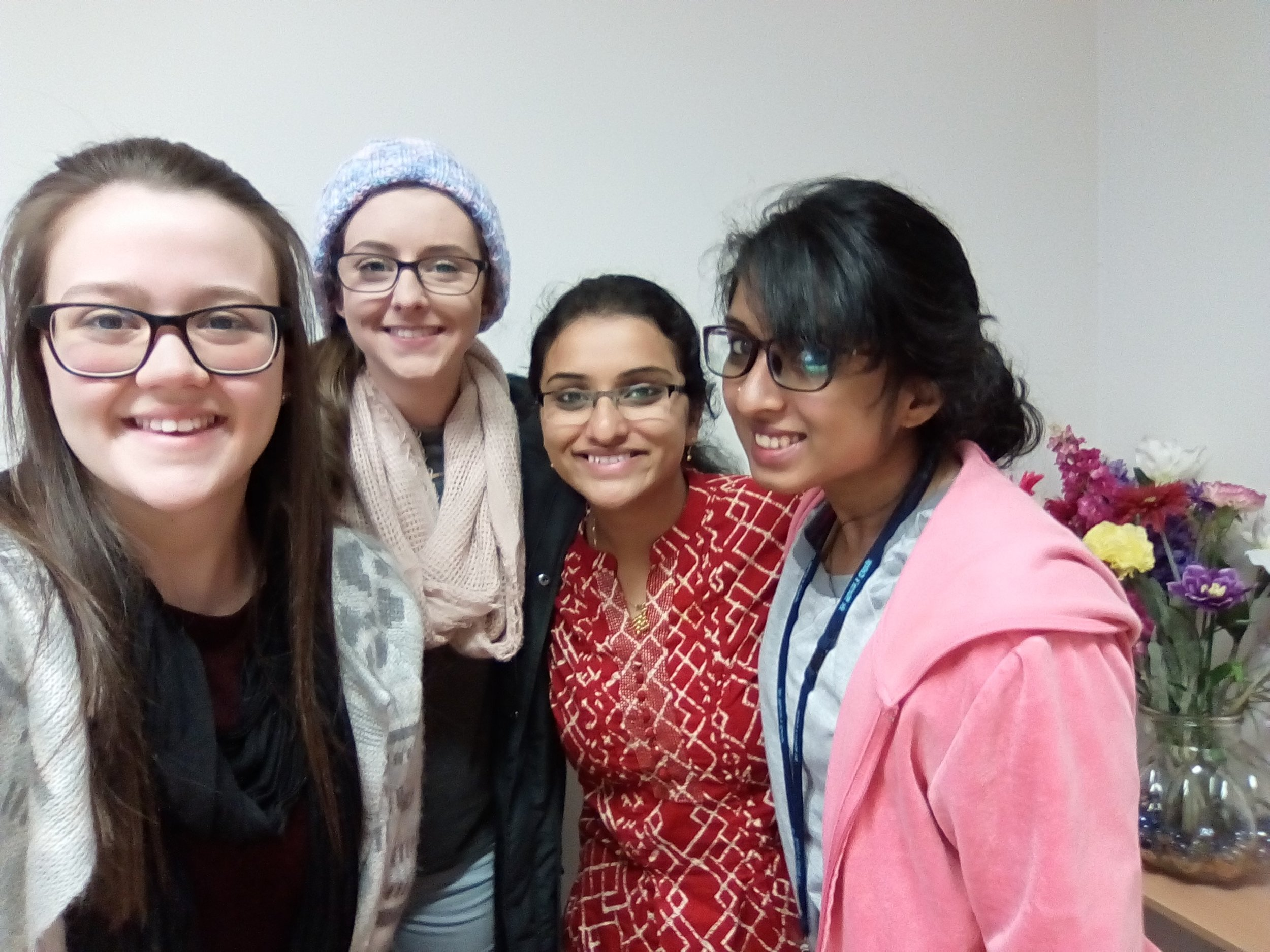 Country Hope Hosts CSU Student exchange from India