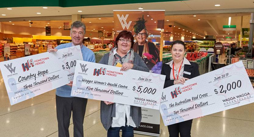 Home Town Heroes $3000 to Country Hope