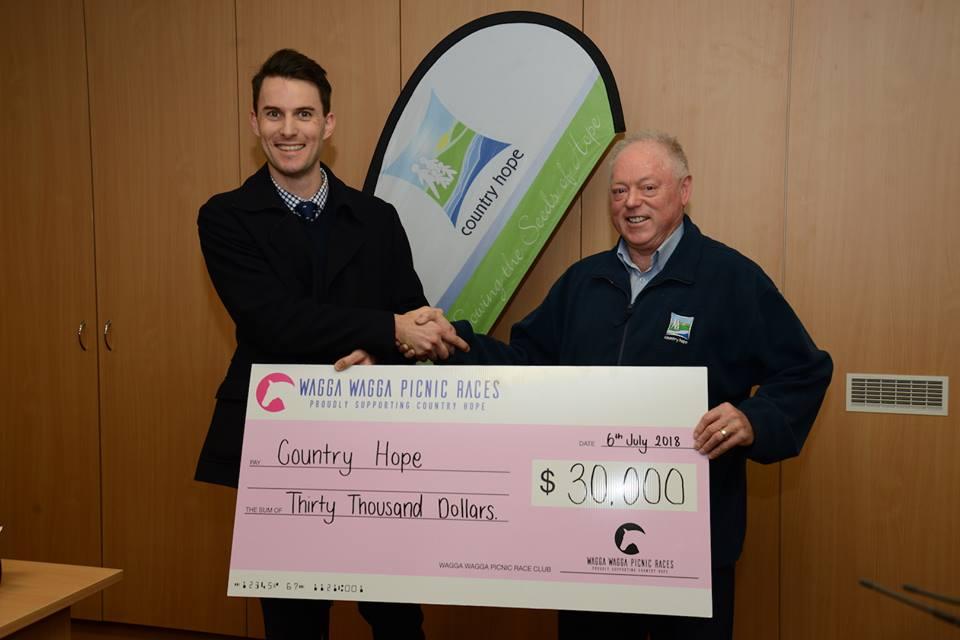Wagga Wagga Picnic Races raised a very impressive $30,000 for Country Hope.jpg