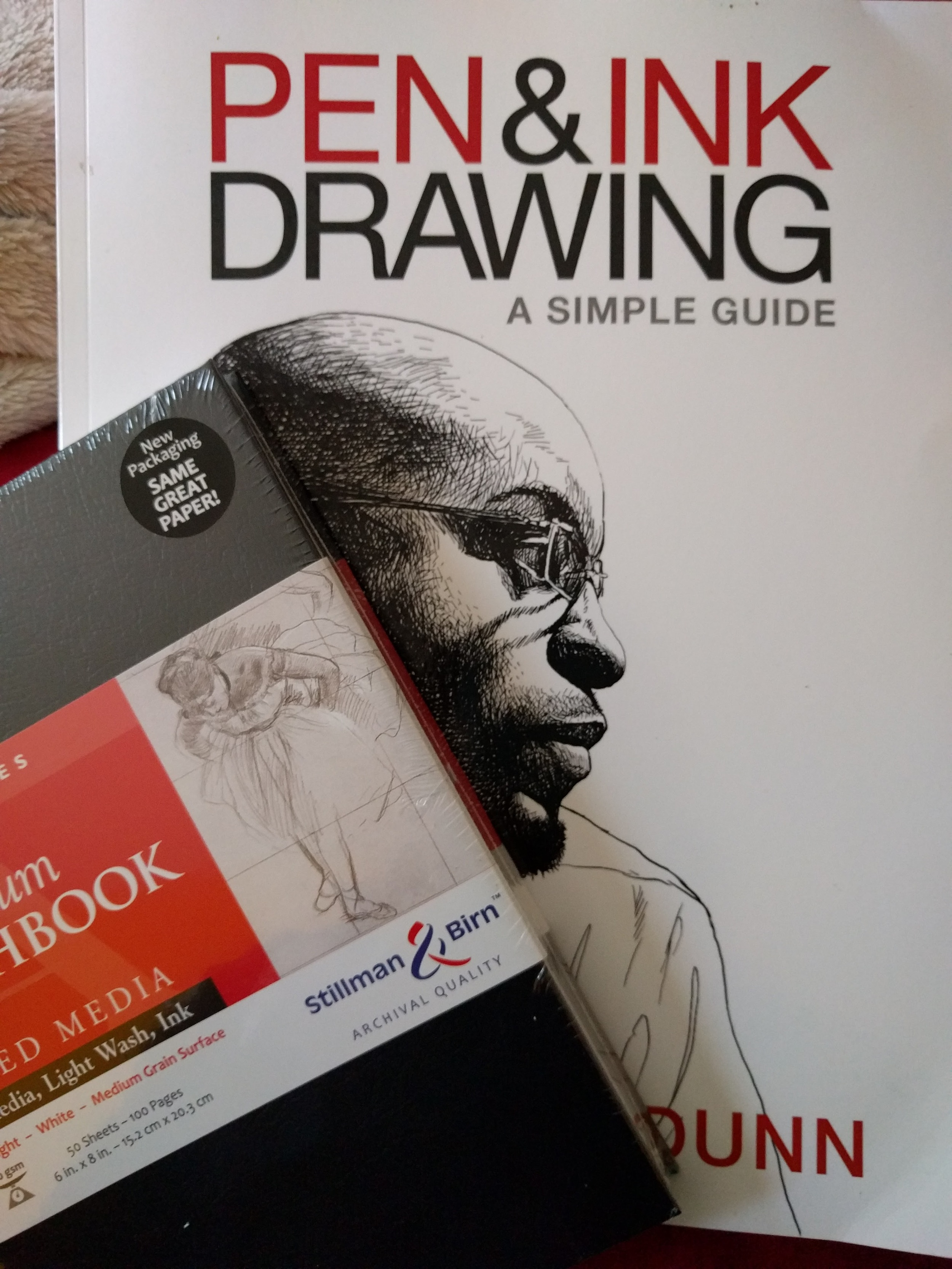 Pen and Ink Drawing: A Simple Guide by Alphonso Dunn