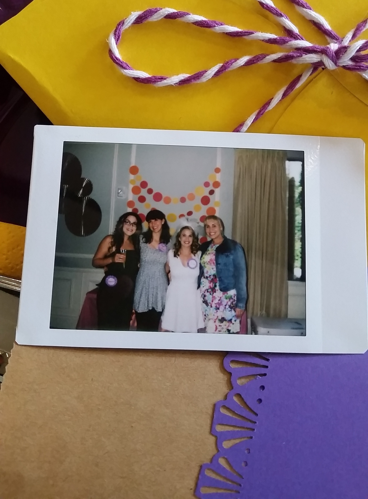 Polaroid Bridal Party