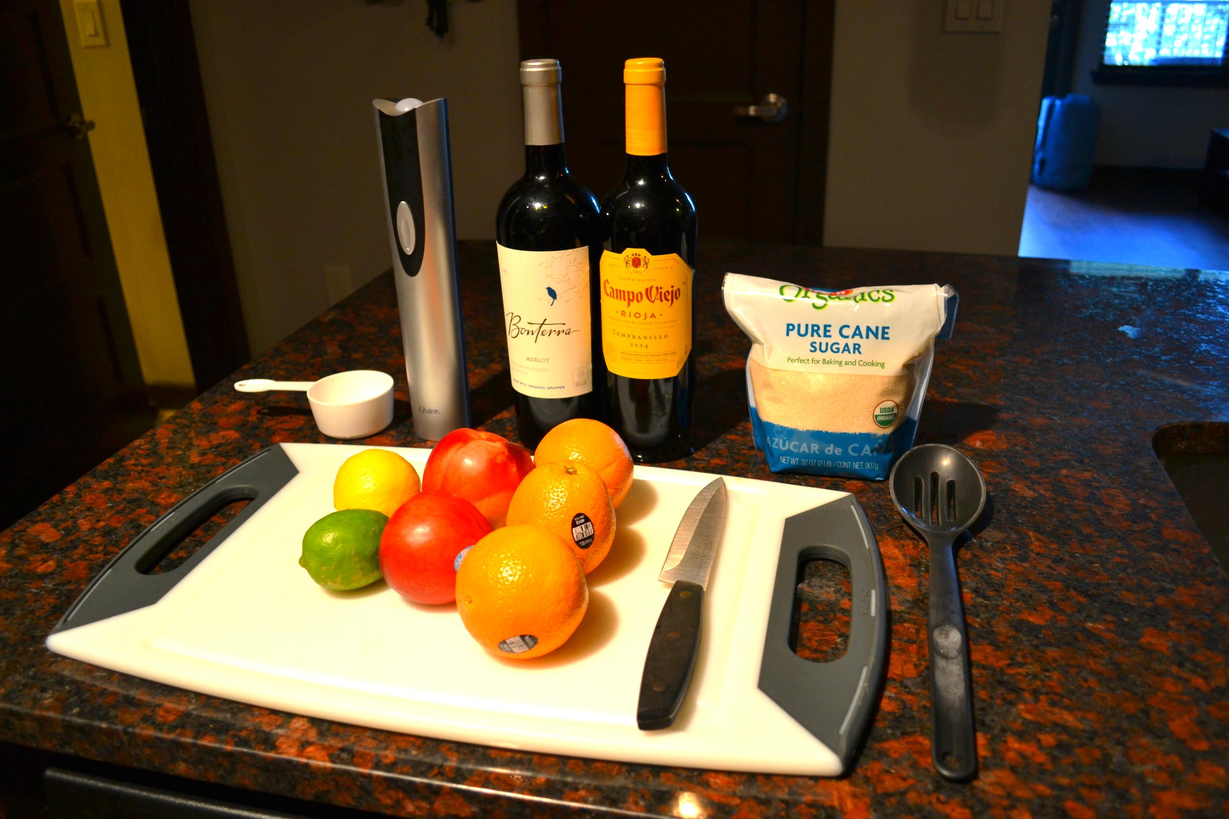 ingredients-sangria
