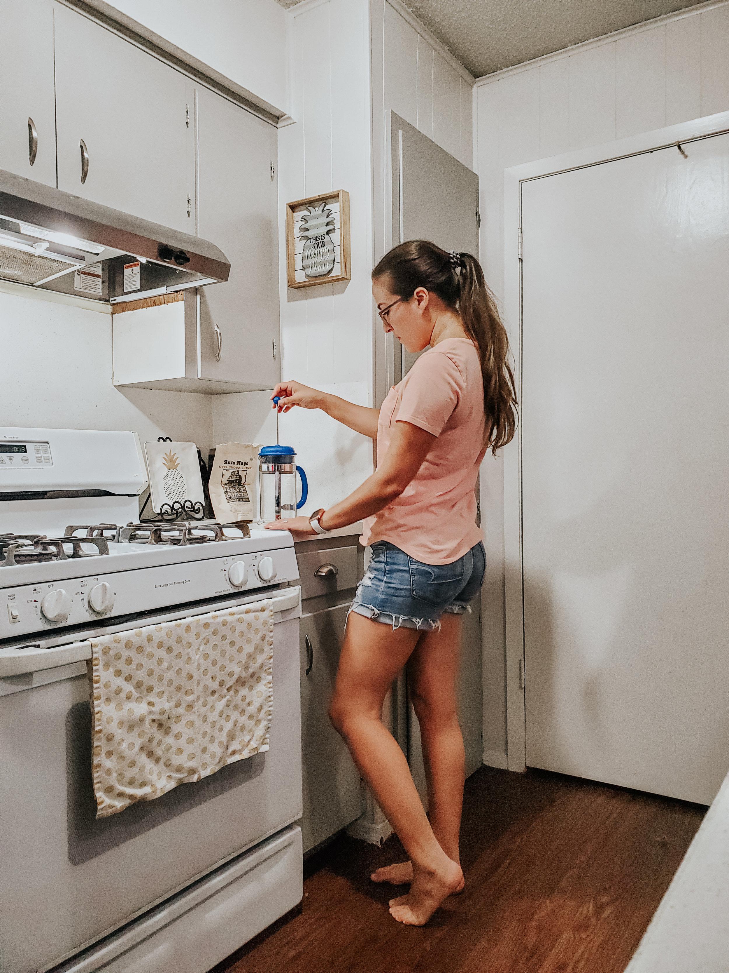 aspeckofsunshine-kitchen-coffee-brewing