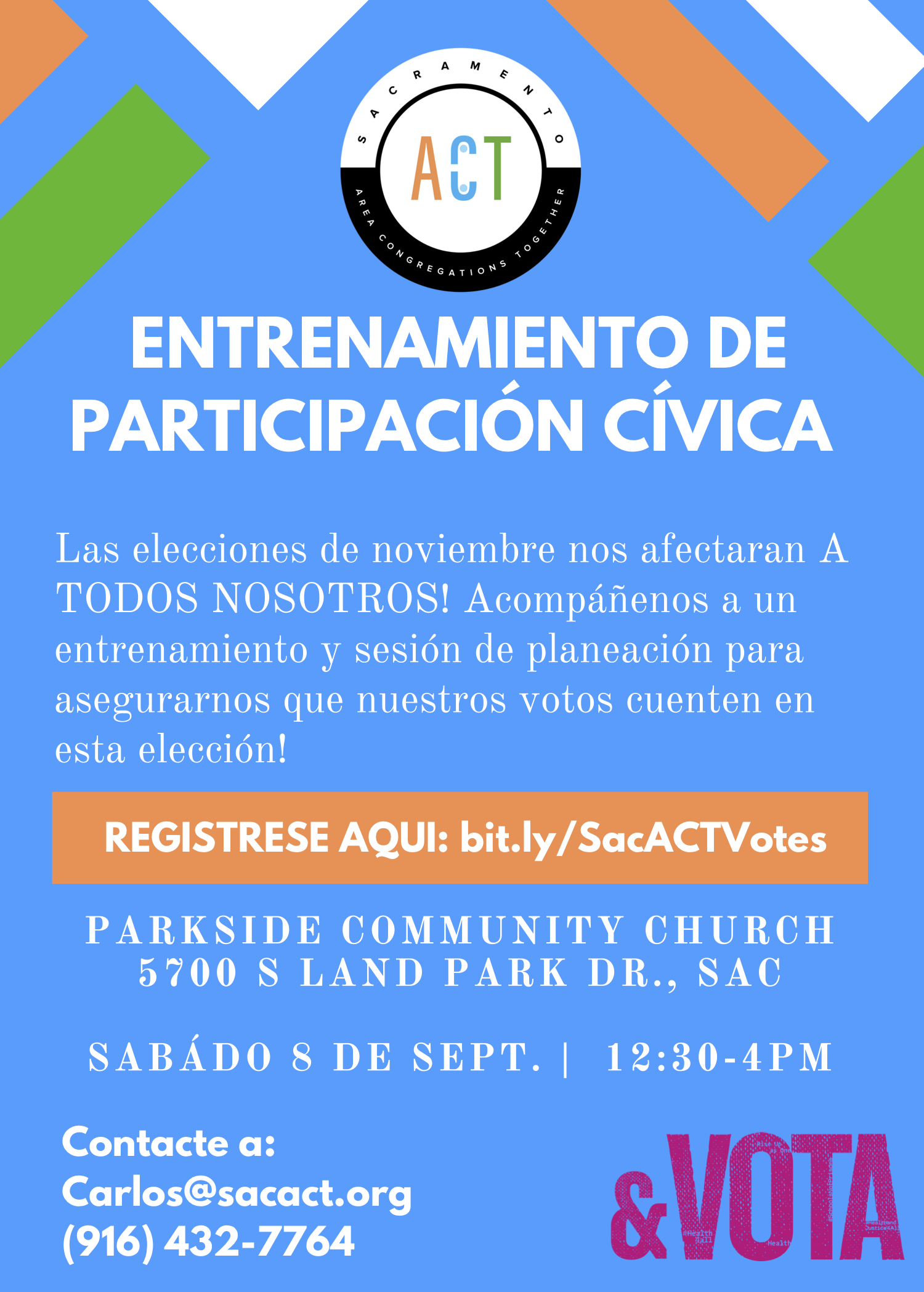 Civic Engagement Training Flyer Spanish.png