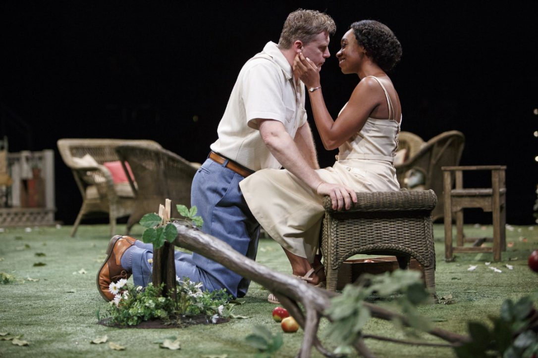 Tim Campbell and Sarah Afful in All My Sons