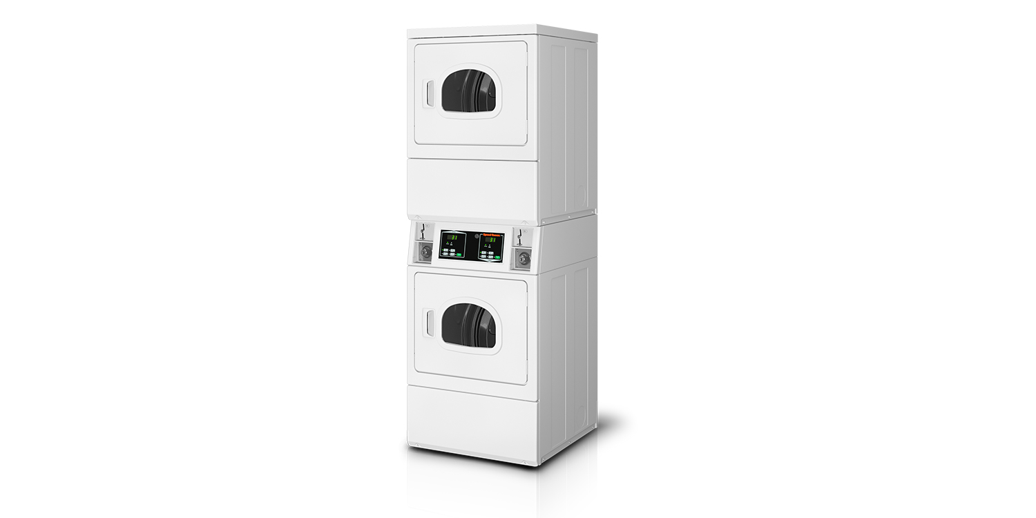 Vended Coin Operated Stack Dryers