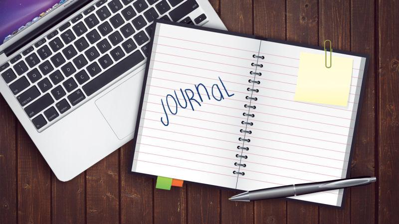 Keep a Journal... - is one of the tasks on my Bucketlist.