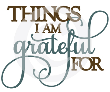 Listing 100 Things... - ... I'm Thankful For another Task on my Bucketlist.