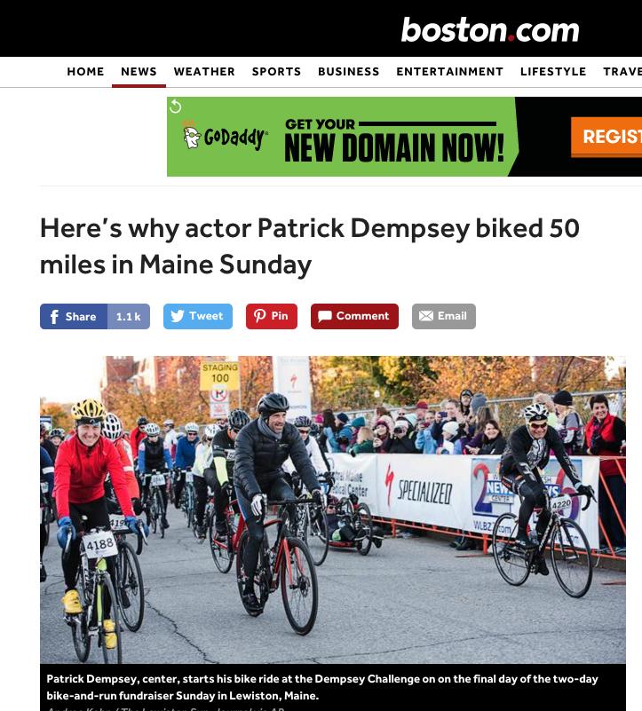 Feature: Dempsey Center, Boston Globe