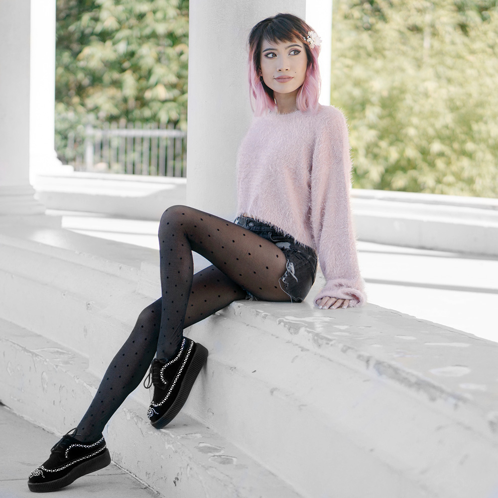 Sweater:  Tobi   Shoes: T.U.K. SHOES