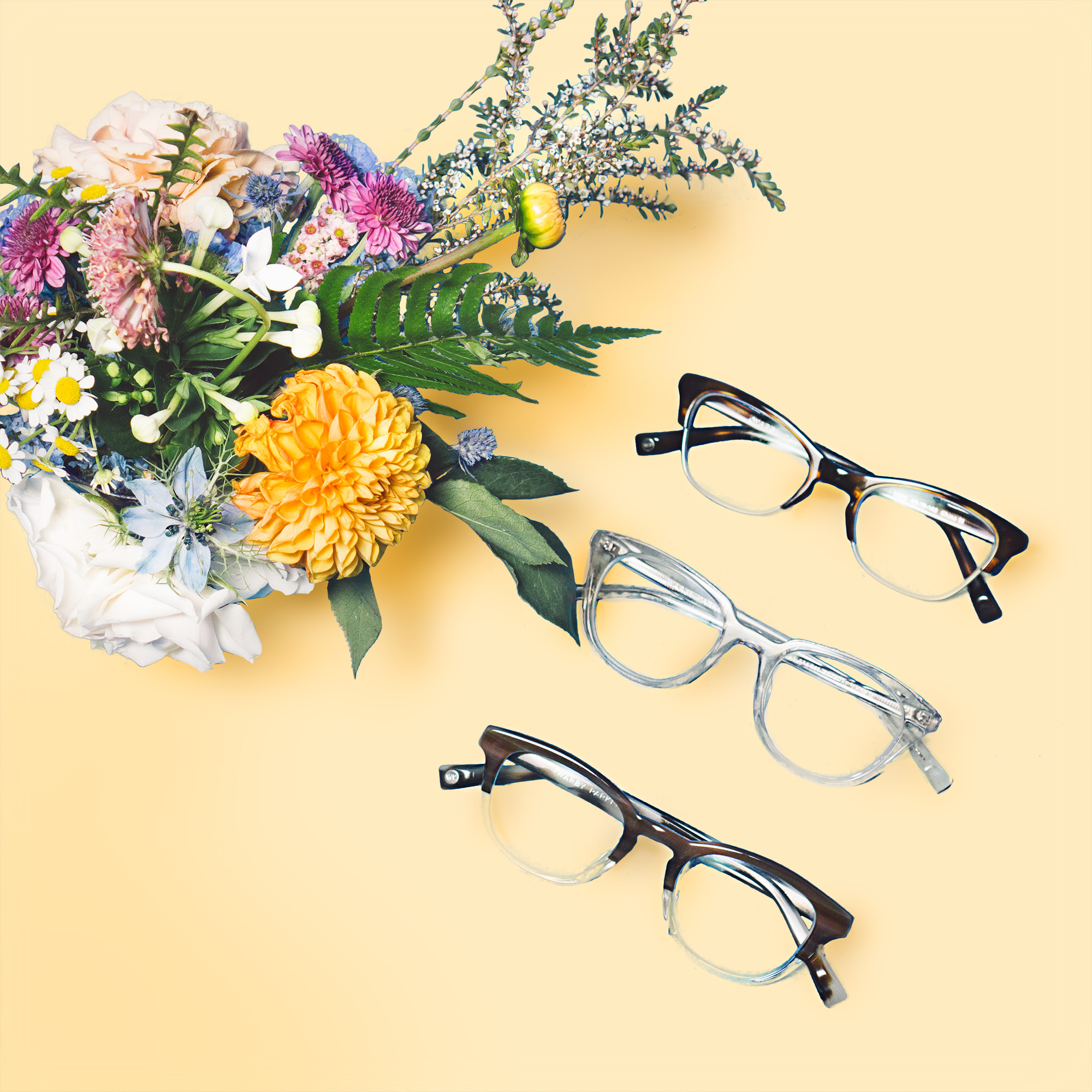 Our summer collection looking sophisticated and pretty!