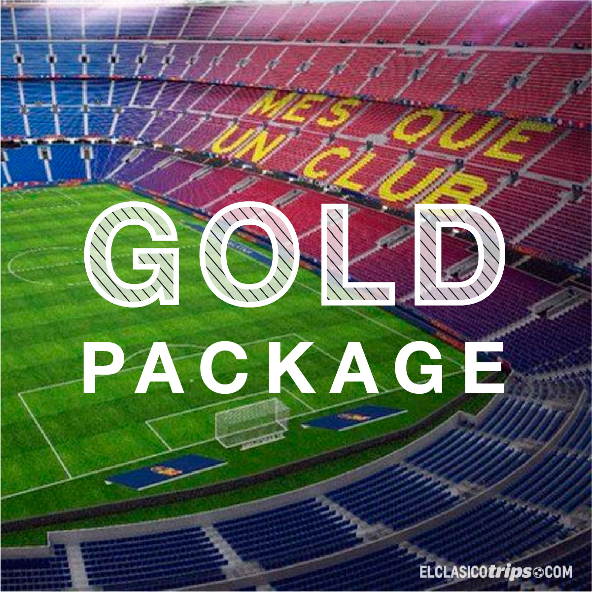El Clasico - FC Barcelona vs Real Madrid - Gold Package