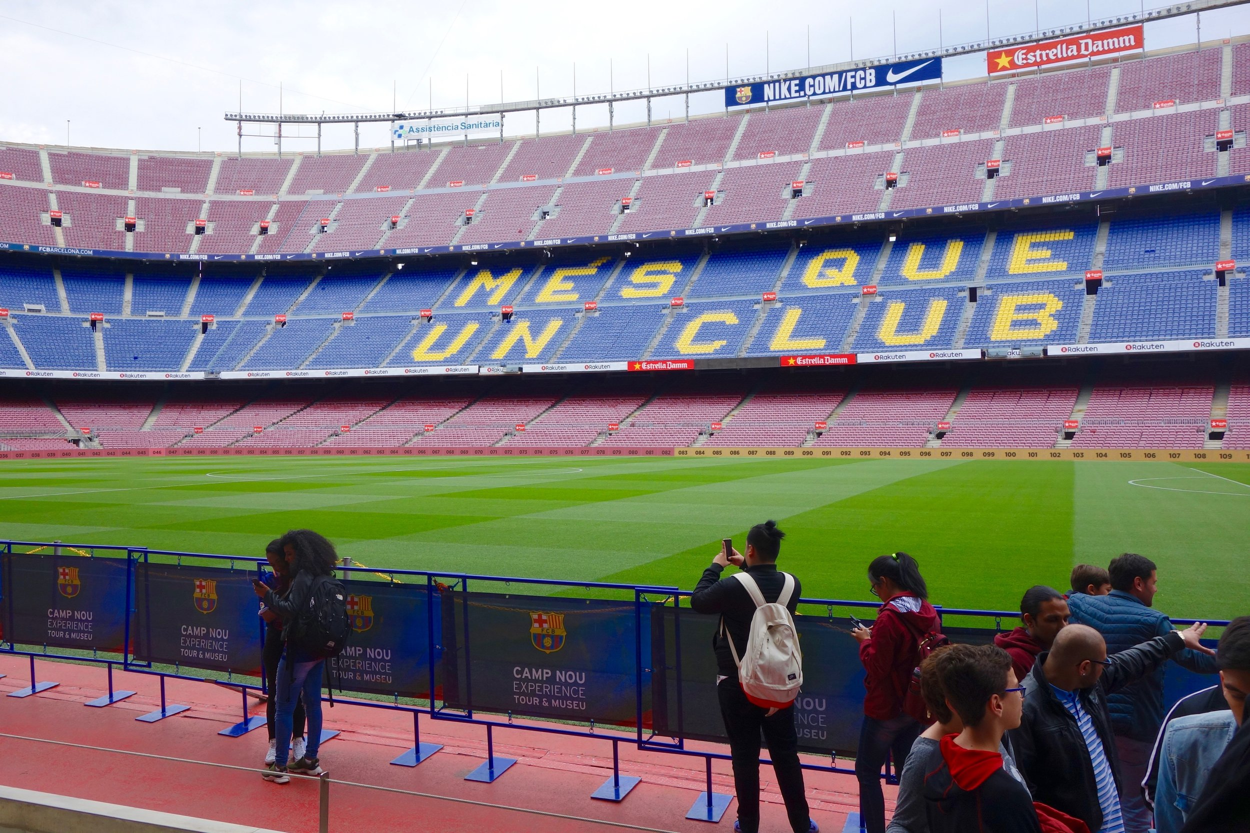 Camp Nou Tour (Gold Package Only)