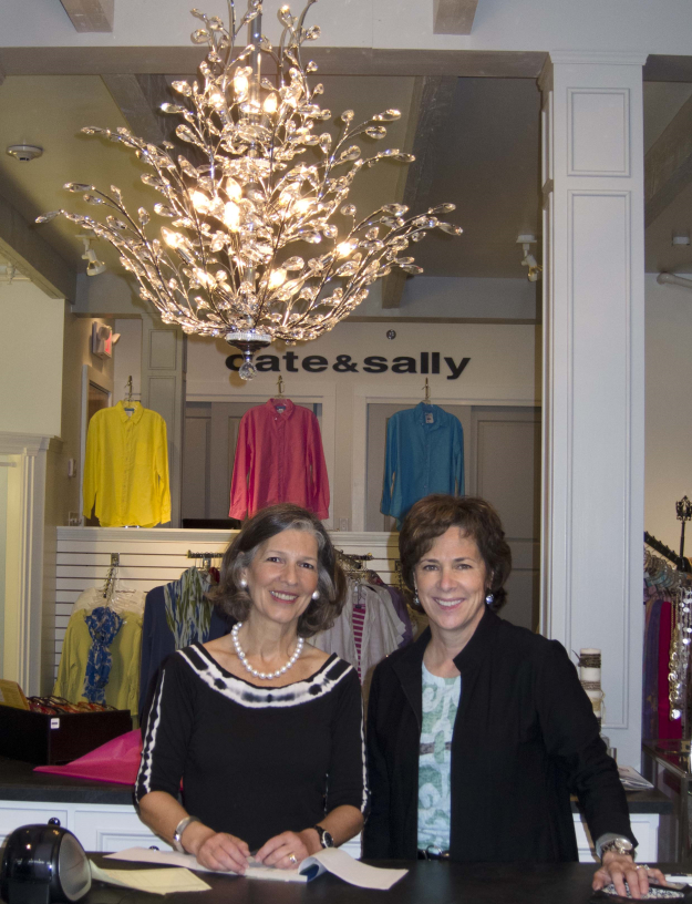 Co-owners, Sally Mason (left) and Cate Davis (right)