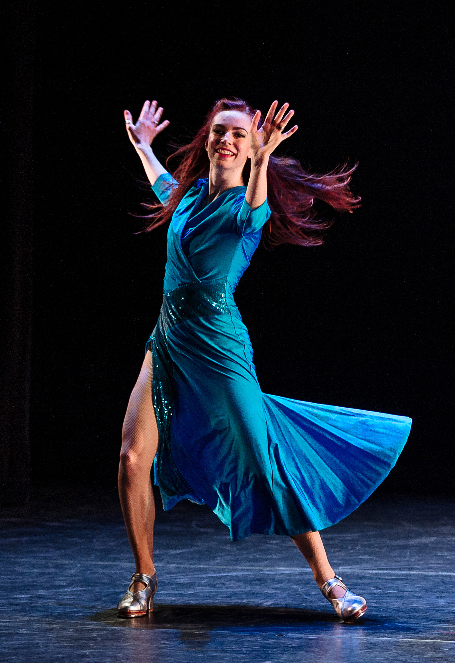 """City Dance Corps' """"Hollywood Mambo""""  Performed at Dance Ontario's  Dance Weekend 2015"""