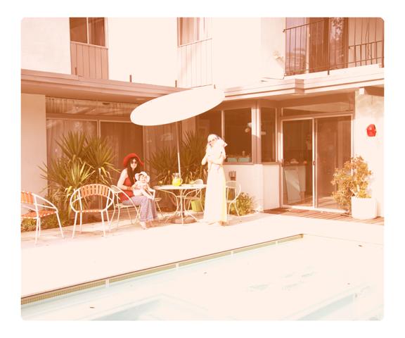 """Swimming Pool"" Digital Print 20 x 24"