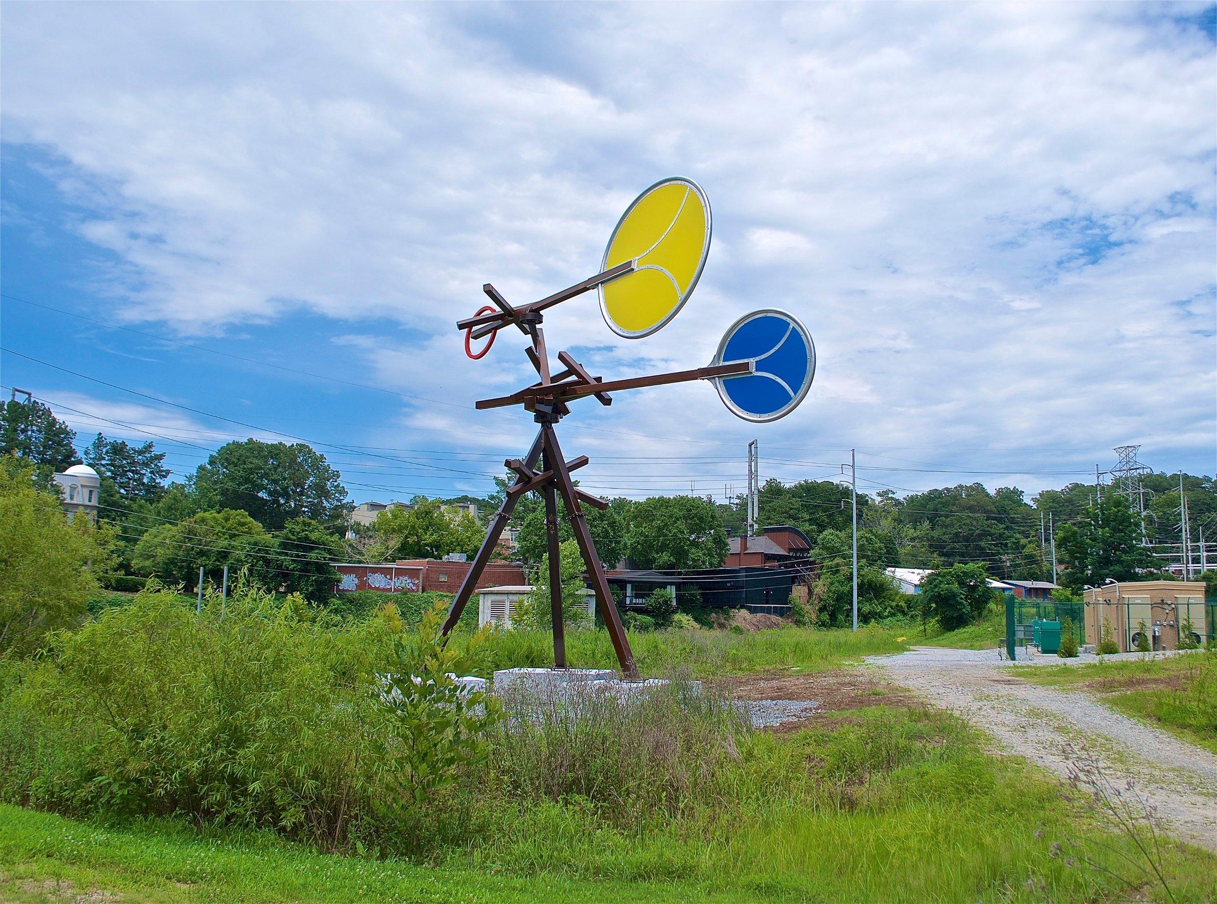 Solar Wind | 2017 | Art on the Atlanta Beltline (Continuing exhibition)
