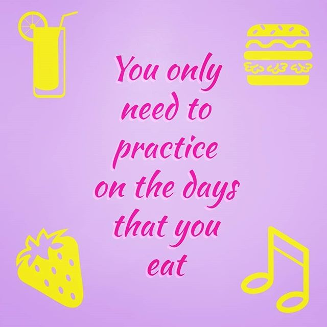 Practice. Every. Single. Day. ⠀ ⠀ It's not as scary as it sounds! The more you practice, the quicker you'll be making beautiful music! Sounds like it's all worth it, really.