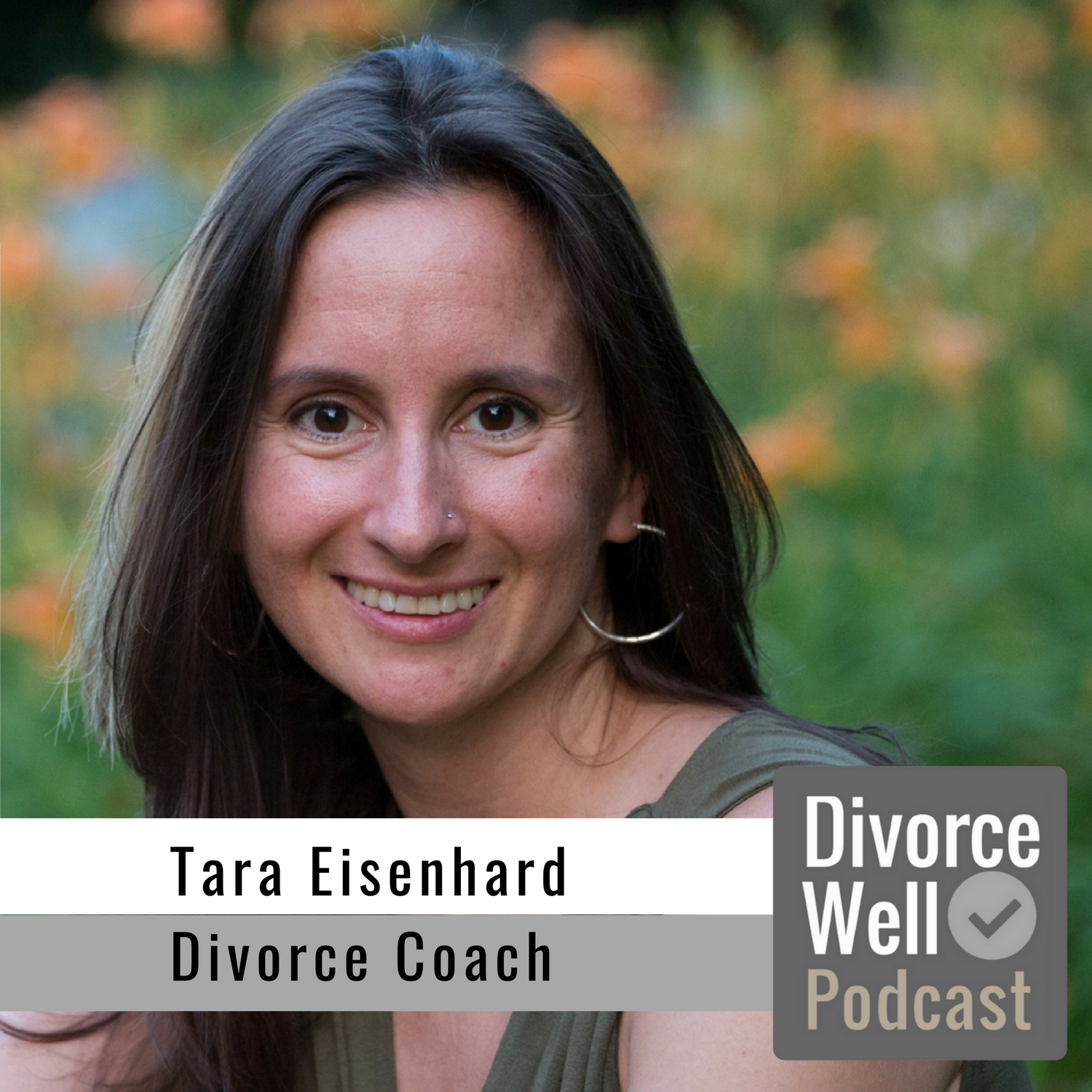 Tara Eisenhard on the Divorce Well Podcast about how a divorce coach can help with your separation