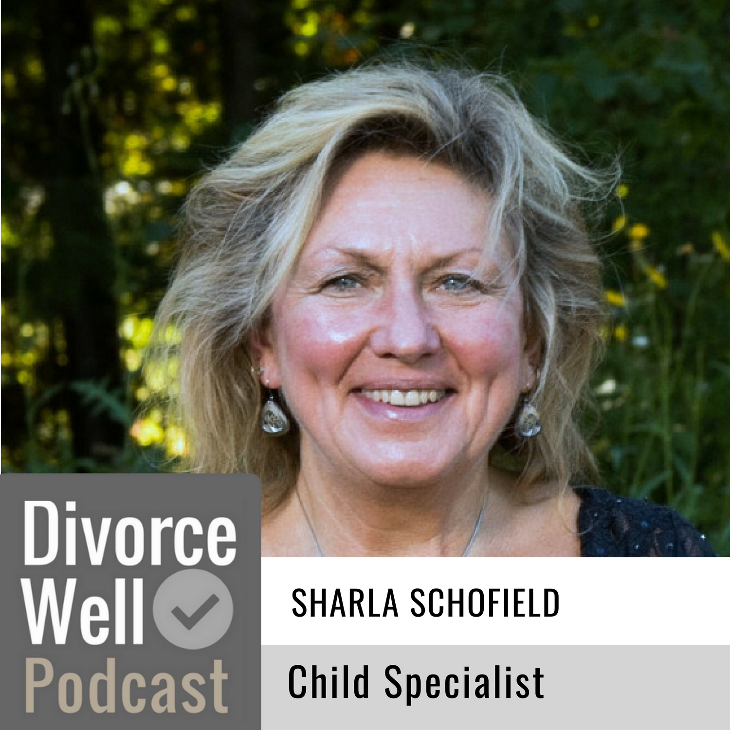 Sharla Schofield on the Divorce Well Podcast about using a child specialist during separation
