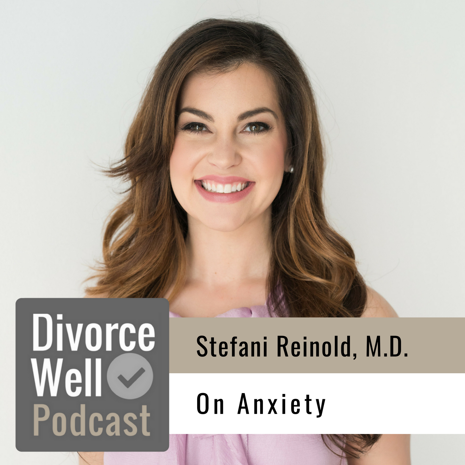 Stefani Reinold on the Divorce Well Podcast about anxiety during separation and divorce