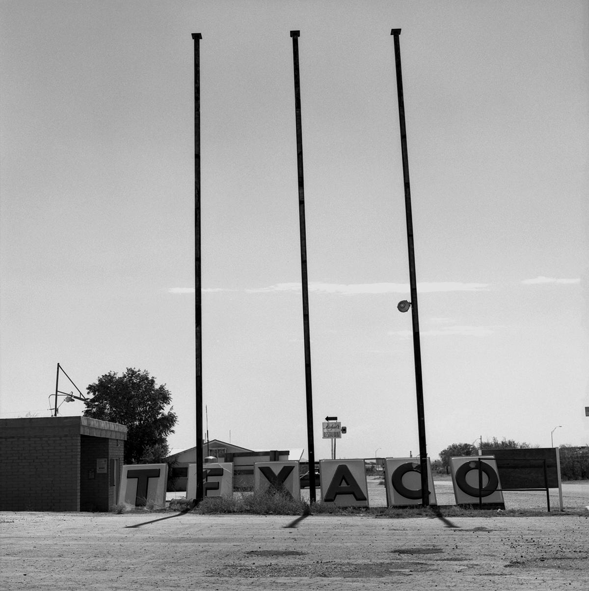Diane Durant, Texaco, Sierra Blanca TX, 2013