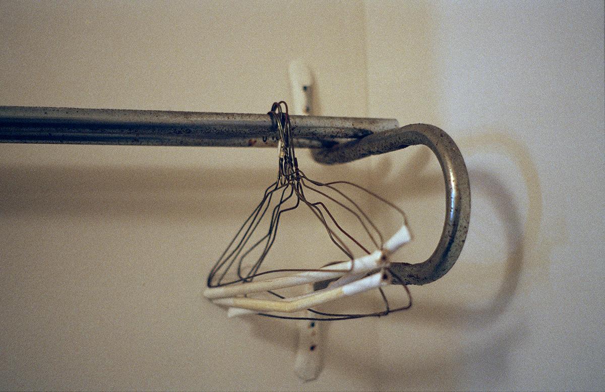 Michelle Moezam, Hanging Rust, 2013