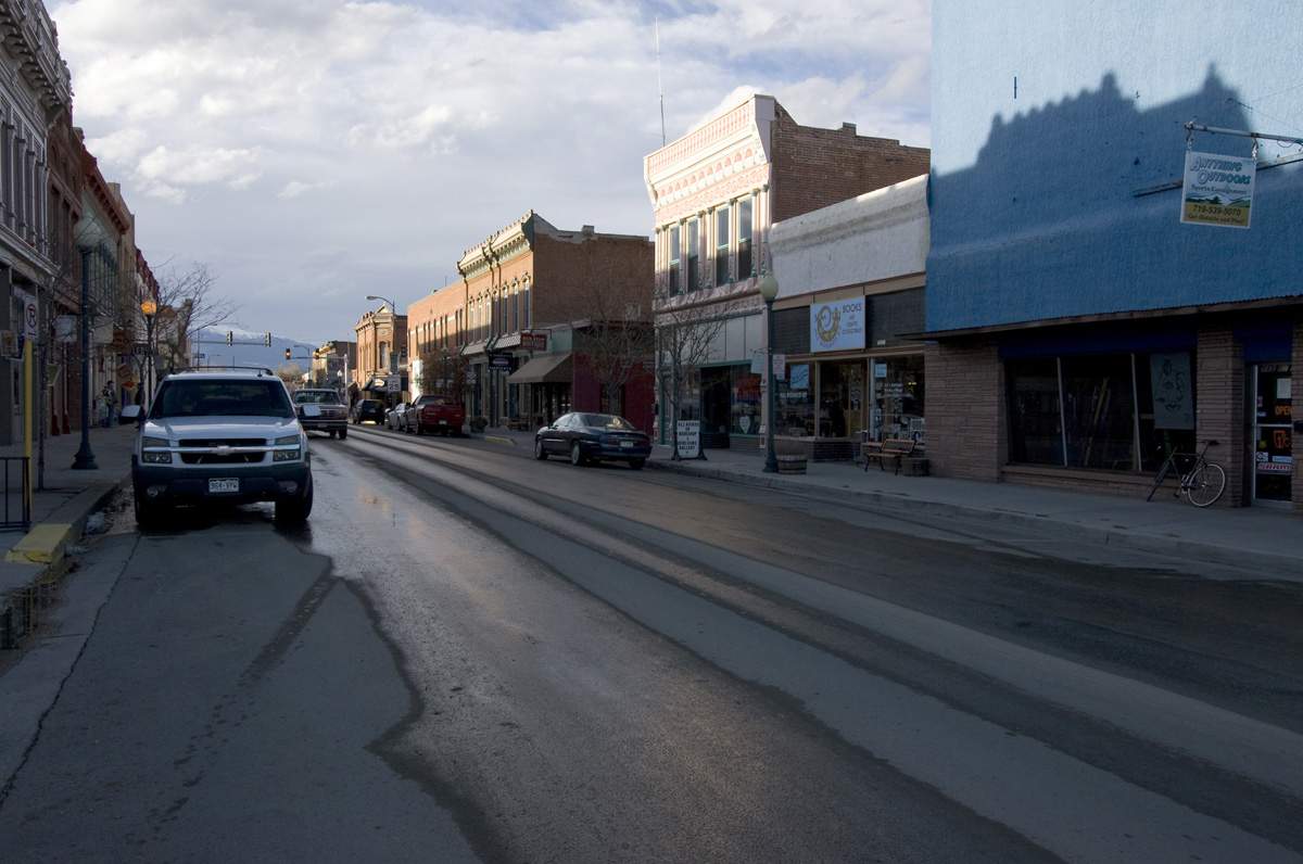 Sandy Sorlien, First Street, Salida, Colorado, 2011